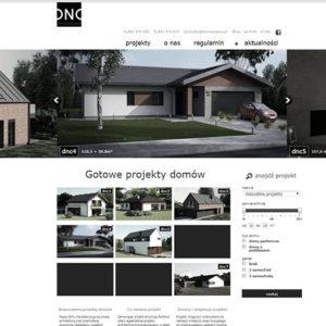 Projekt strony www - dom na czasie